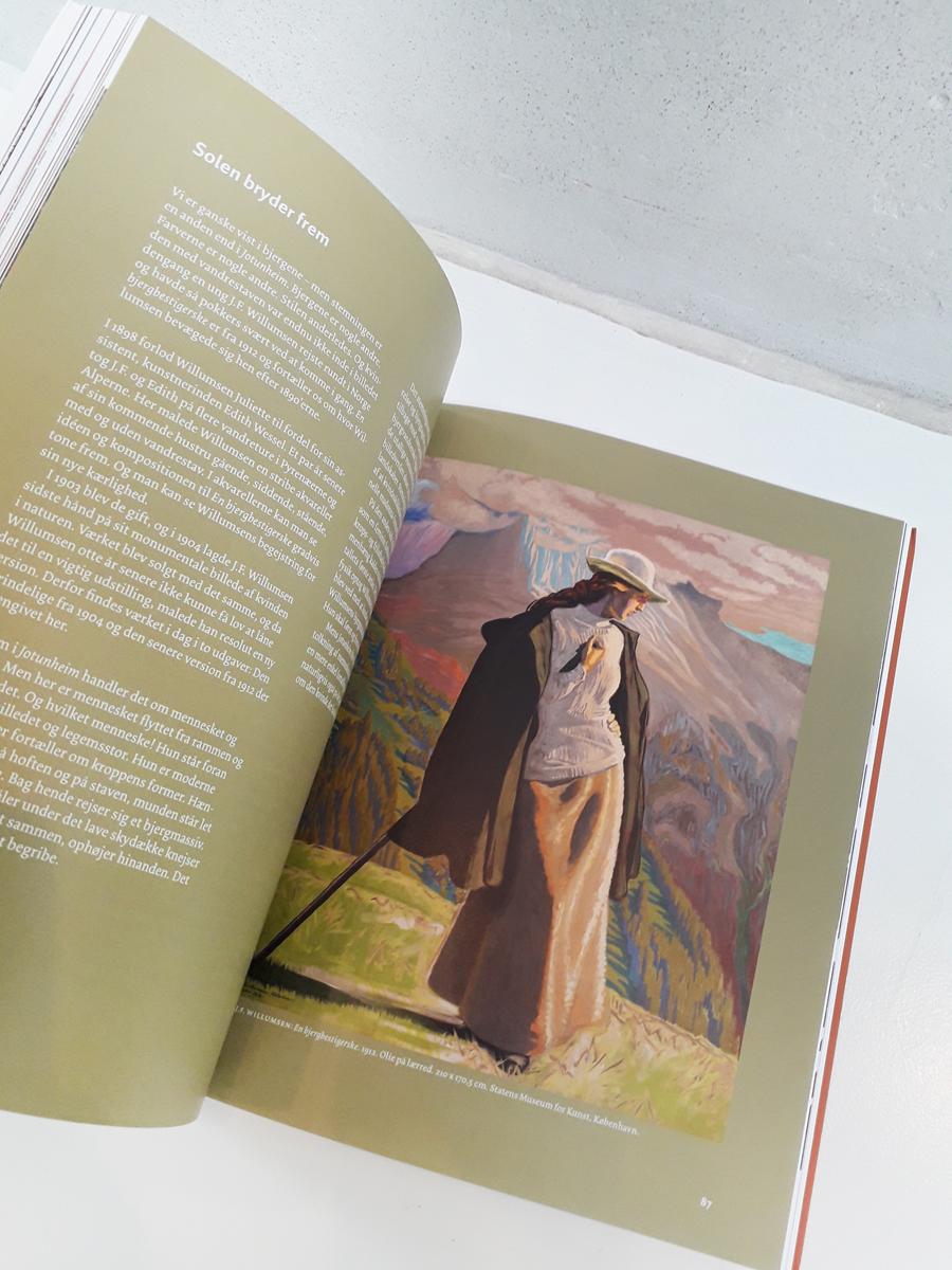 Bjergtaget Willumsen Bøger opslag