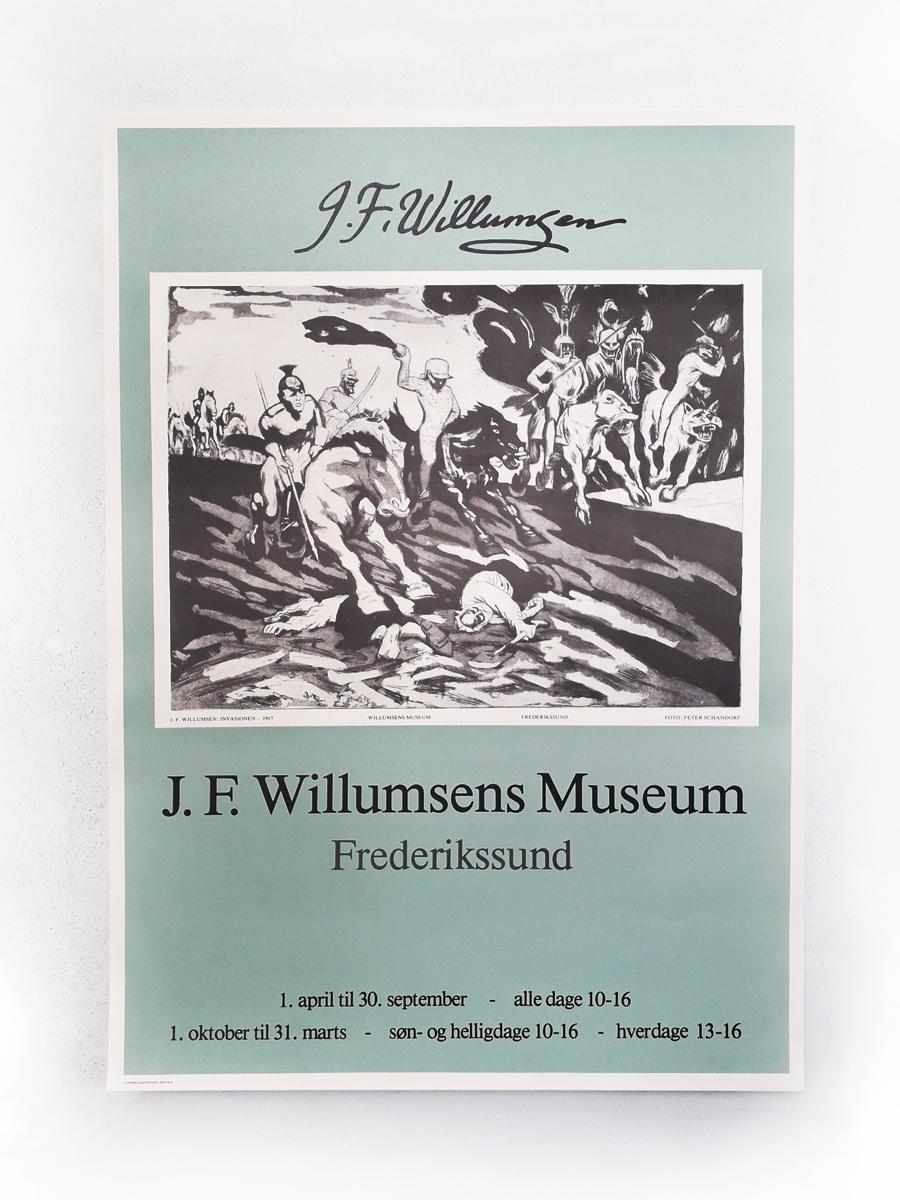 Invasionen Plakater Willumsens Museum