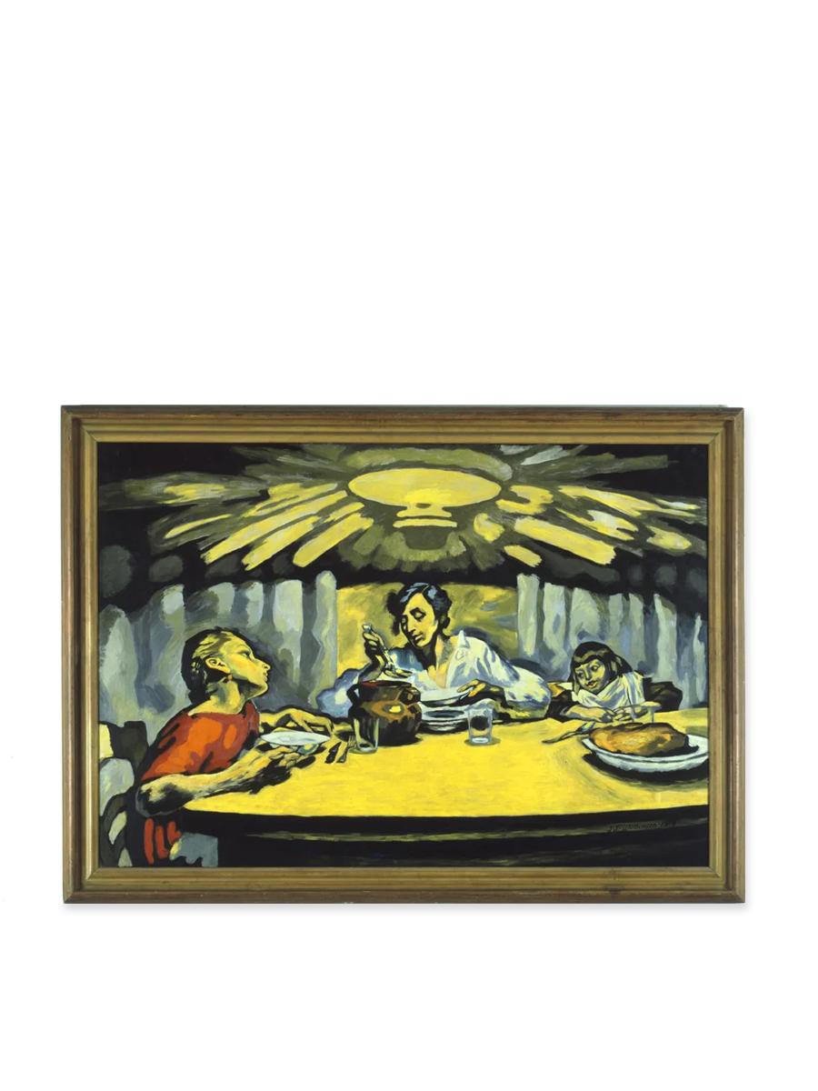 Postkort Afrensuppen Willumsens Museum