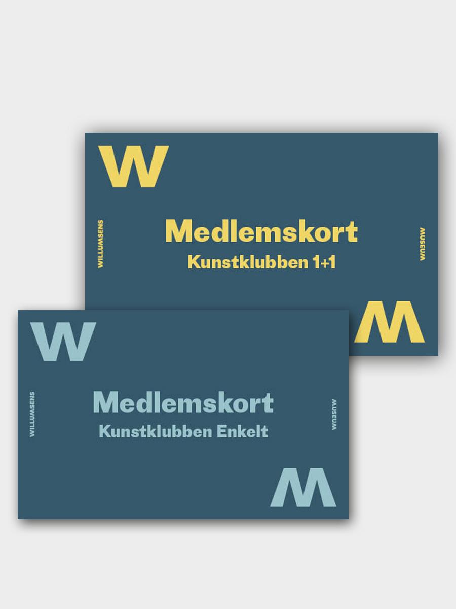 Klubkort Willumsens Museum