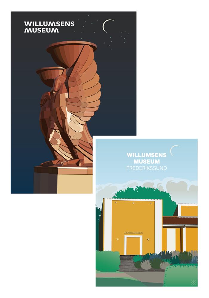Herholdt-Posters-Willumsens-Museum-Dansk-Plakatdesign