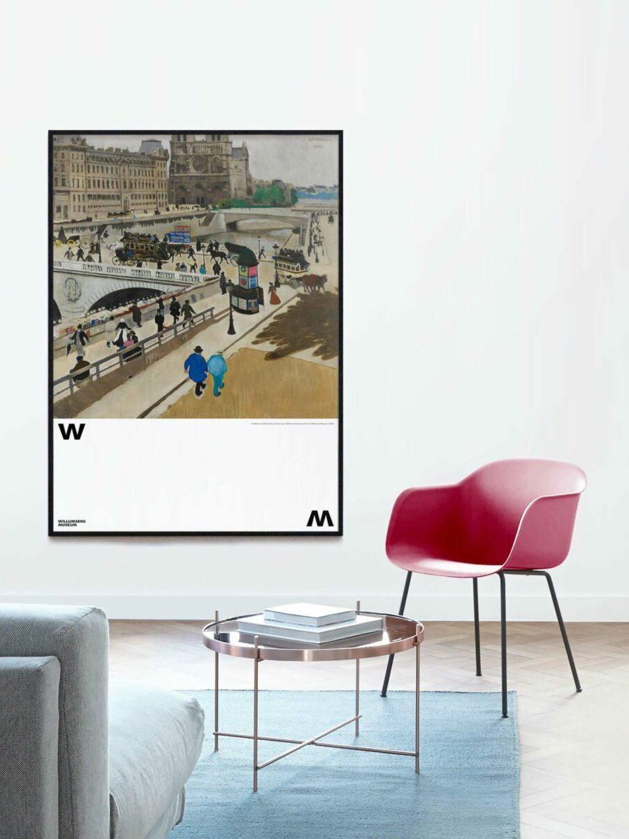 Billede af livet på Paris kajer_scene